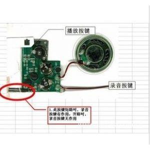 供应各种秒数录音芯片,录音IC,录音玩具机芯