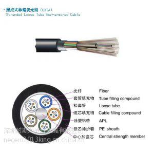 供应光纤厂家直供长飞4芯、8芯、12芯、24芯、48芯、96芯、144芯光纤光缆报价