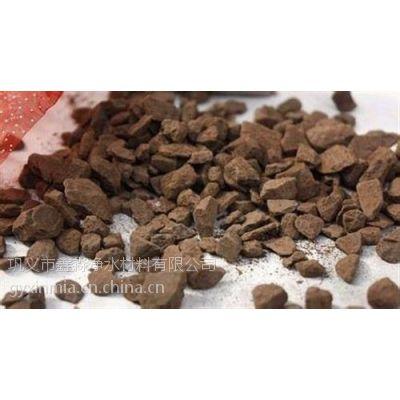 供应锰砂滤料价格|锰砂滤料鑫淼行业优质保证!(图)|天然锰砂滤料