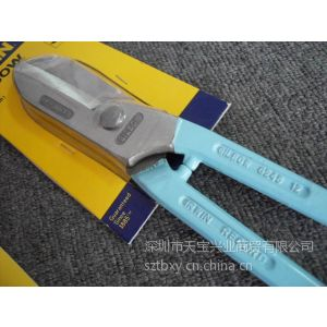 英国RWIN铁皮剪刀 8寸进口剪刀 200mm 白铁剪 G245-8