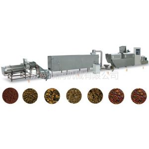 供应宠物饲料加工机械 饲料膨化机