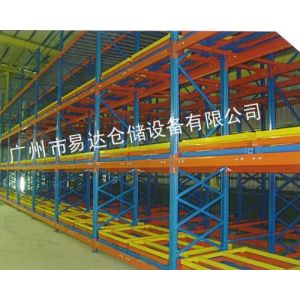 易达供应重型仓储货架 广州压入式/后推式货架