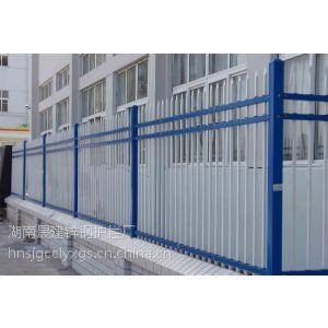 供应穿插式围墙围栏,小区厂房围墙围栏,穿插组装,喷塑颜色,膨胀螺丝安装