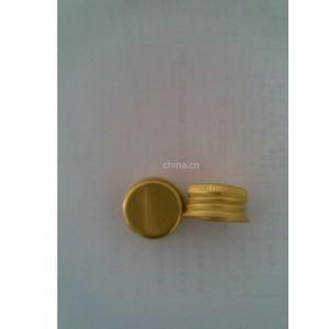 供应氧化金色铝盖