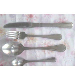 供应环保便携不锈钢餐具,西餐具刀叉勺4件套