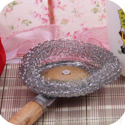 洗锅刷批发 清洁刷 锅刷 木柄清洁 不沾油锅刷 木柄钢丝球