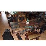 供应船木茶台,酒吧台,成套家具,船木装饰