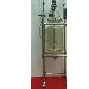 供应供应SF-30双层玻璃反应釜厂家玻璃反应器(图)