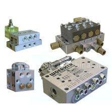 供应林肯双线分配器,油气混合器,进口单线分配阀,