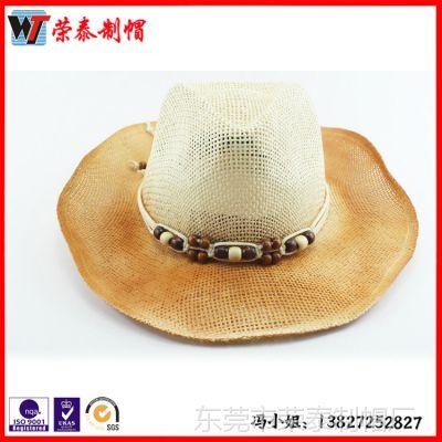 加工定做草帽工厂 供应塑料PP成人帽 夏季大沿遮阳帽太阳帽子