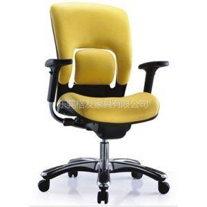 格友家具供应豪华布艺办公椅,时尚高档主管椅