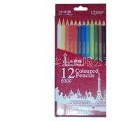 供应中华12色彩色铅笔 彩铅