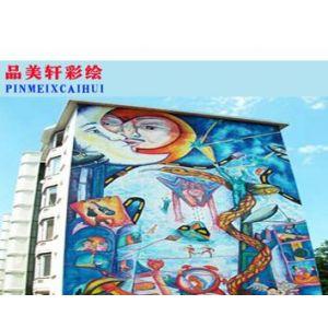 江西专业的健身中心壁画,大型购物场所壁画—南昌
