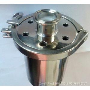 供应国昌不锈钢卫生级快装空气呼吸器 304-316