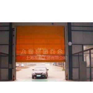 供应堆积式高速卷门 上海高藤门业 日本安川变频器起稳压和控制
