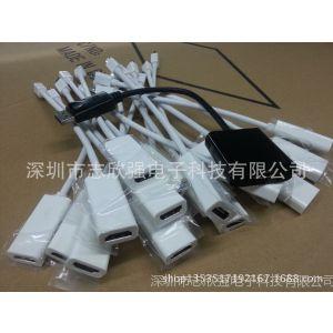 供应【厂家生产】苹果mini DP to hdmi视频线 迷你DP转HDMI高清转接线