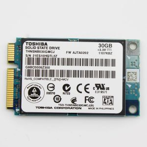 供应东芝 SSD云储 固态硬盘厂家 30G 全新原装正品 PCI-E M-SATA shinedisk