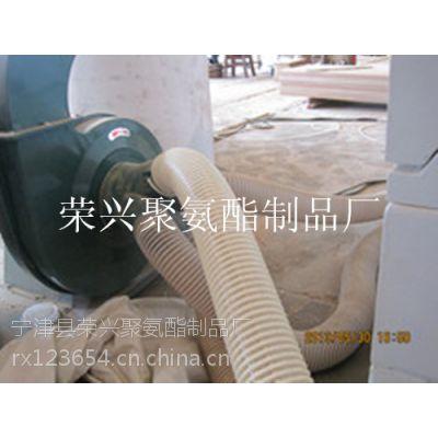 供应PU塑筋螺旋管,聚氨酯塑筋缠绕管价格