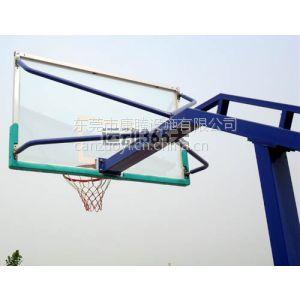 供应国家标准 户外高强度钢化玻璃篮球板篮板 可定制 搭配篮球框 篮筐