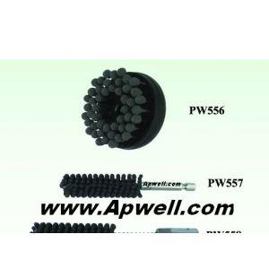 供应带砂轮球形磨头去除毛刺抛光毛刷,凹凸面毛刺去除型,挠性(柔性)磨料圆盘刷