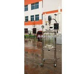 供应郑州杜甫专业生产双层玻璃反应釜单层玻璃反应釜价格优惠(图)