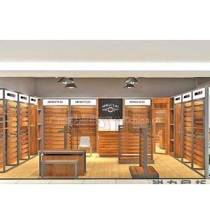 广州锐力展柜供应牛仔展示柜支持定制