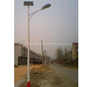太阳能路灯走进蚌埠固镇新农村
