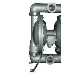 供应QBY-40P型304不锈钢气动隔膜泵