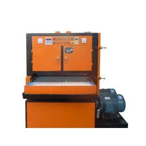 供应双砂板材自动磨砂机 电脑外壳自动拉丝机、立创铝板自动砂光机报价