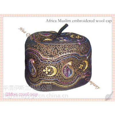 2019款非洲刺绣羊毛帽Africa Muslim embroidered wool cap