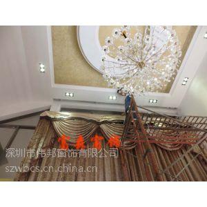 供应品牌智能家居 杜亚电动窗帘高窗遥控升降开合帘静音窗帘电机6米升降