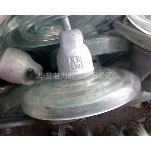 供应长期收购供电局库存积压玻璃悬式绝缘子 普通钢化玻璃电瓷回收