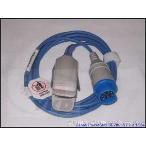 供应监护仪配件兼容 SIEMENS /西门子10针 一体血氧探头成人指夹