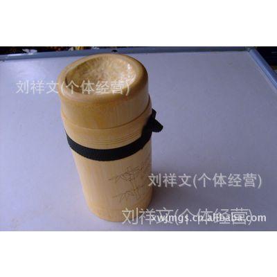 天然毛竹 竹器竹茶筒环保竹水杯 竹杯提带子竹节杯具 旅游工艺品