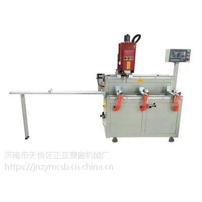 济南门窗生产厂家正亚铝型材加工切割机 全自动 500数控角码锯