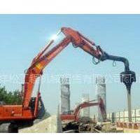 供应小松400打桩机租赁·基坑围护·水泥桩打拔