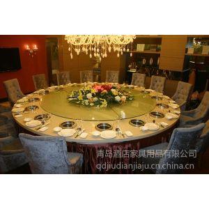 供应青岛厂家专业定做 豪华电动桌 酒店餐桌餐椅 卡座沙发 西餐桌椅 高档肯德基桌椅