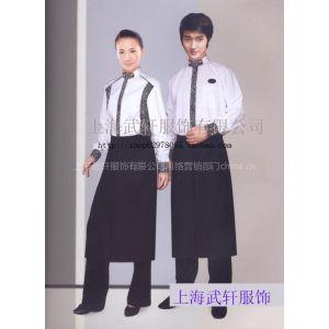 供应咖啡厅工作服/服务员工作服/咖啡厅工服订做