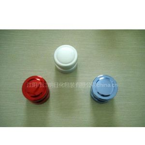 电化铝盖、电化铝香水瓶盖、化妆品铝盖,膏霜盖,精油盖专业生产厂家-江阴江明日化包装,联系电话:1396169516