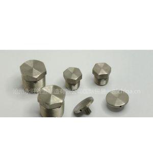 供应A182 F347材质六角头管塞