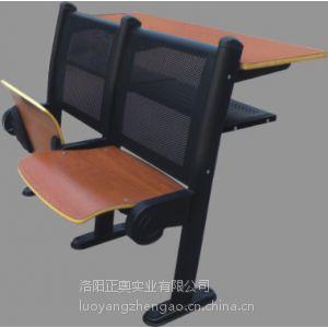 供应厂家供应多媒体教室连排椅 大学阶梯教室课桌椅 钢木学生桌椅批发