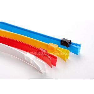 供应深圳市宝安公明塑胶拉链批发厂家透明美观拉链袋