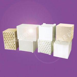 供应加热炉配套用六方孔蜂窝陶瓷蓄热体