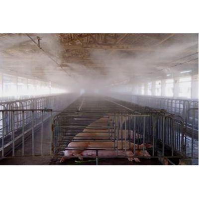 供应垃圾处理场喷雾加湿除尘杀菌消毒除臭微雾机