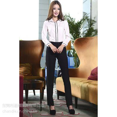 虎门服装加工厂韩版女衬衫定制服装加工来样来图加工