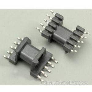 供应EPC13贴片骨架+磁芯 5+5引脚