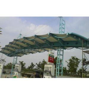 供应无锡加油站张拉膜结构