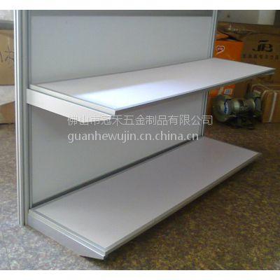 供应展会标摊专用层板 参展展位八棱柱层板 铝合金包边层板制作
