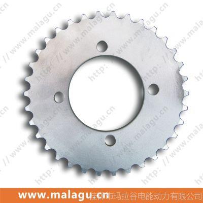 供应 改装电动三轮车牙盘/链轮 420-34齿(黑色) -64781
