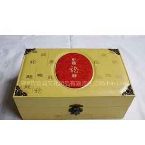 供应高档酒盒定制皮质酒盒